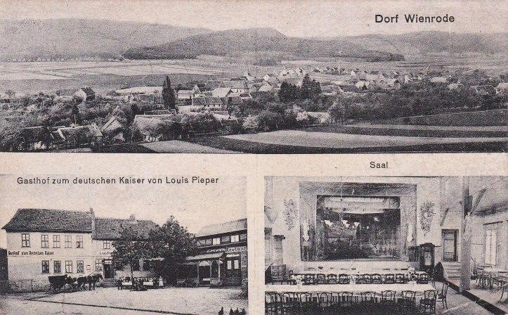 Ansichstkarte-Wienrode_Gasthof-zum-deutschen-Kaiser_um 1904