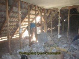 Die Sauerkrautplatten sind Bauabfälle