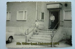 Eingang zur Dorfschänke 1974