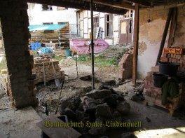 die Bruchstücke kommen später in den Beton