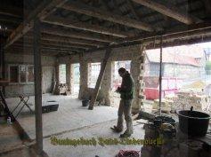 Der Bauleiter beim Planen